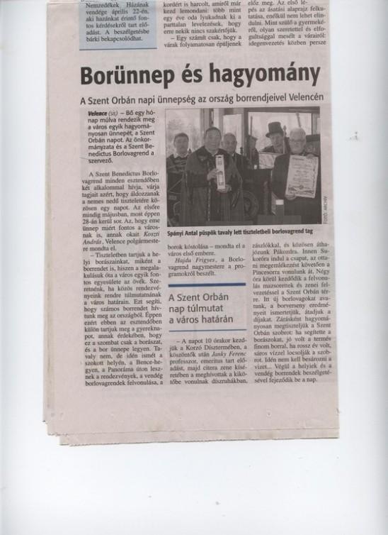 Borünnep és hagyomány         (FMH 2016. április 18.)