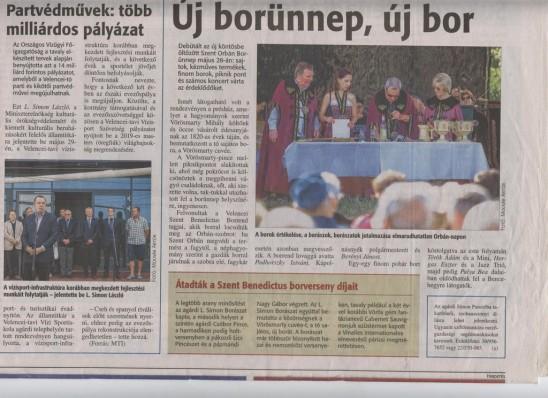 Új borünnep, új bor (FMH 2016. június 09.)