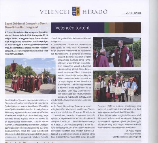 Velencei Híradó 2018. június